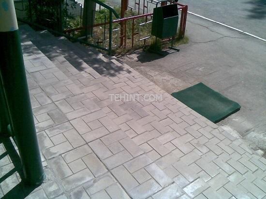 Фото тротуарная плитка крыльцо